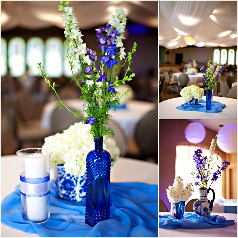 sweet blue wedding details by southern elegance