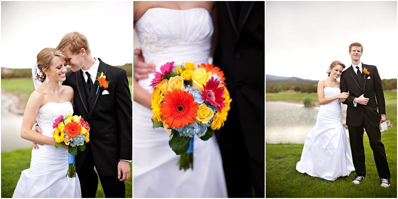 Albuquerque golf course wedding