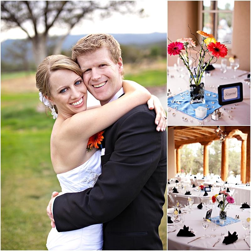 Gerber Daisy wedding details