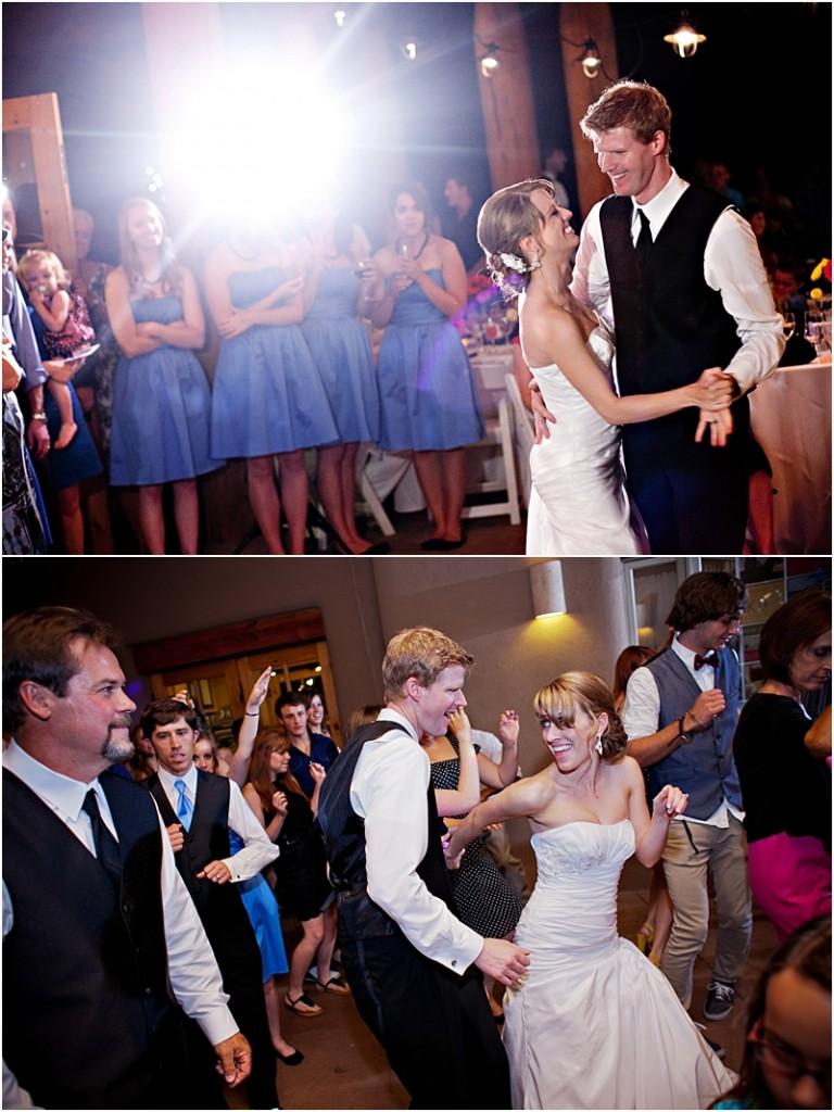 dance reception in Albuquerque