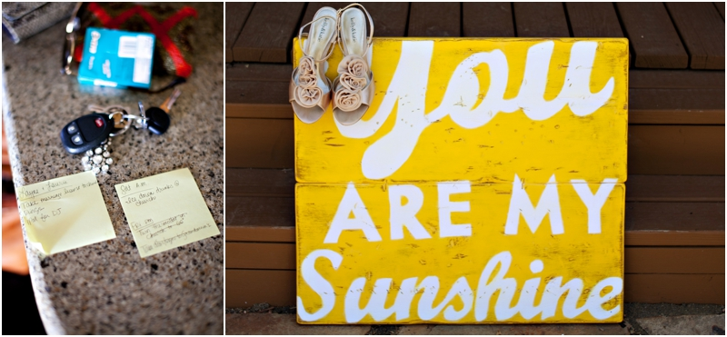 yellow you are my sunshine wedding sign