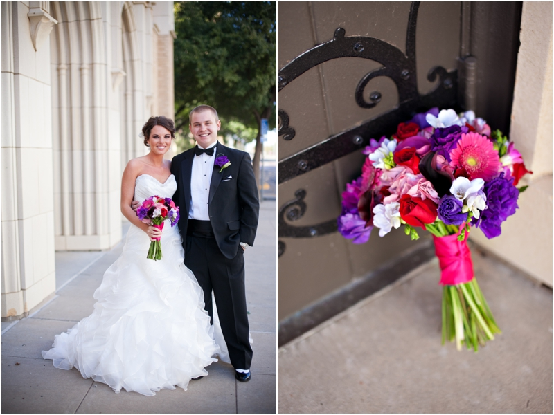 market street wedding bouquet