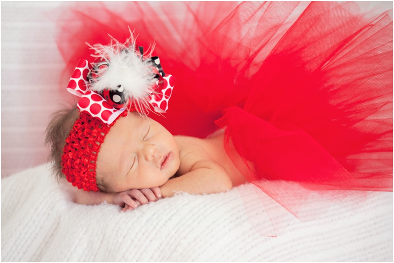 Texas Tech newborn photography