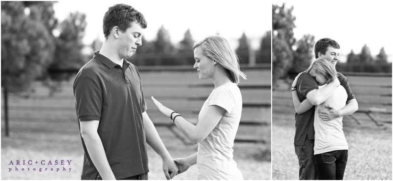 aric and casey photography lubbock proposal photographer