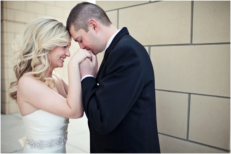Sweet wedding photography by Aric + Casey Photography