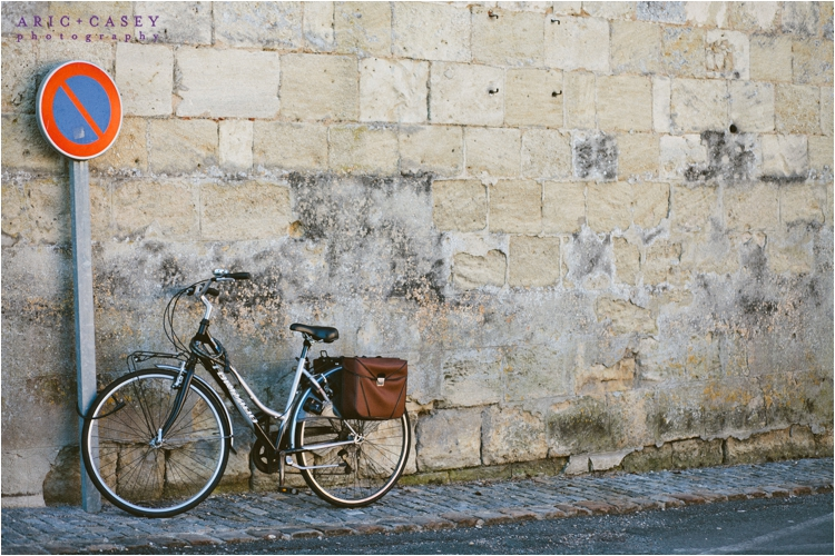 bicycle france travel photo