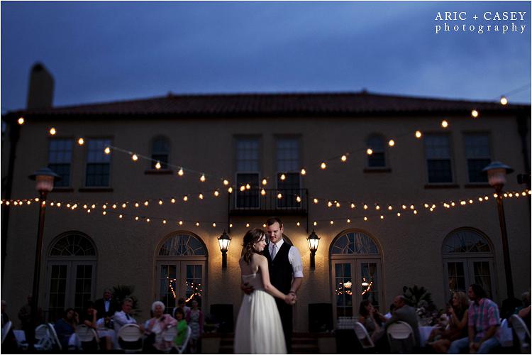 The Merket Alumni Center Wedding Photo