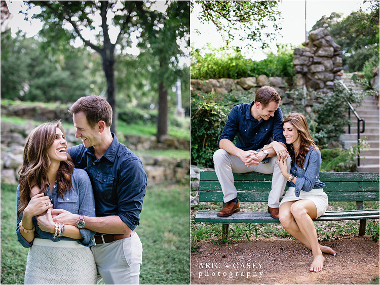 St. Edwards College Austin Texas Engagement photos
