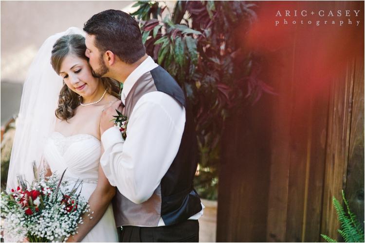 Lubbock backyard wedding