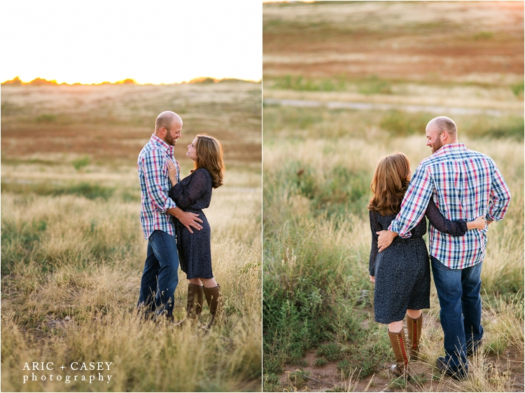 lifestyle engagement photography in lubbock