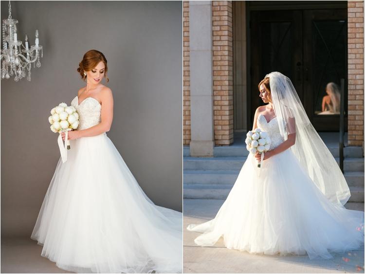 classic lubbock bridal portraits