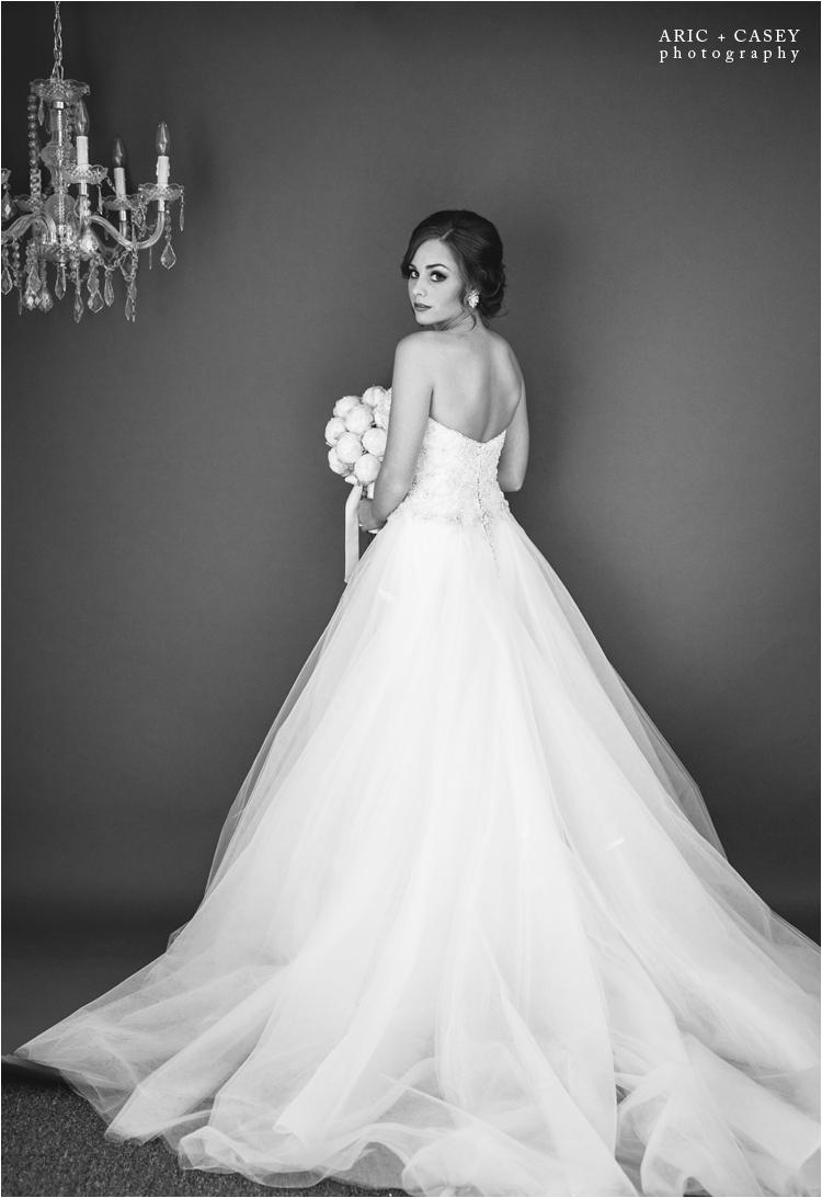 lubbock studio bridal photos