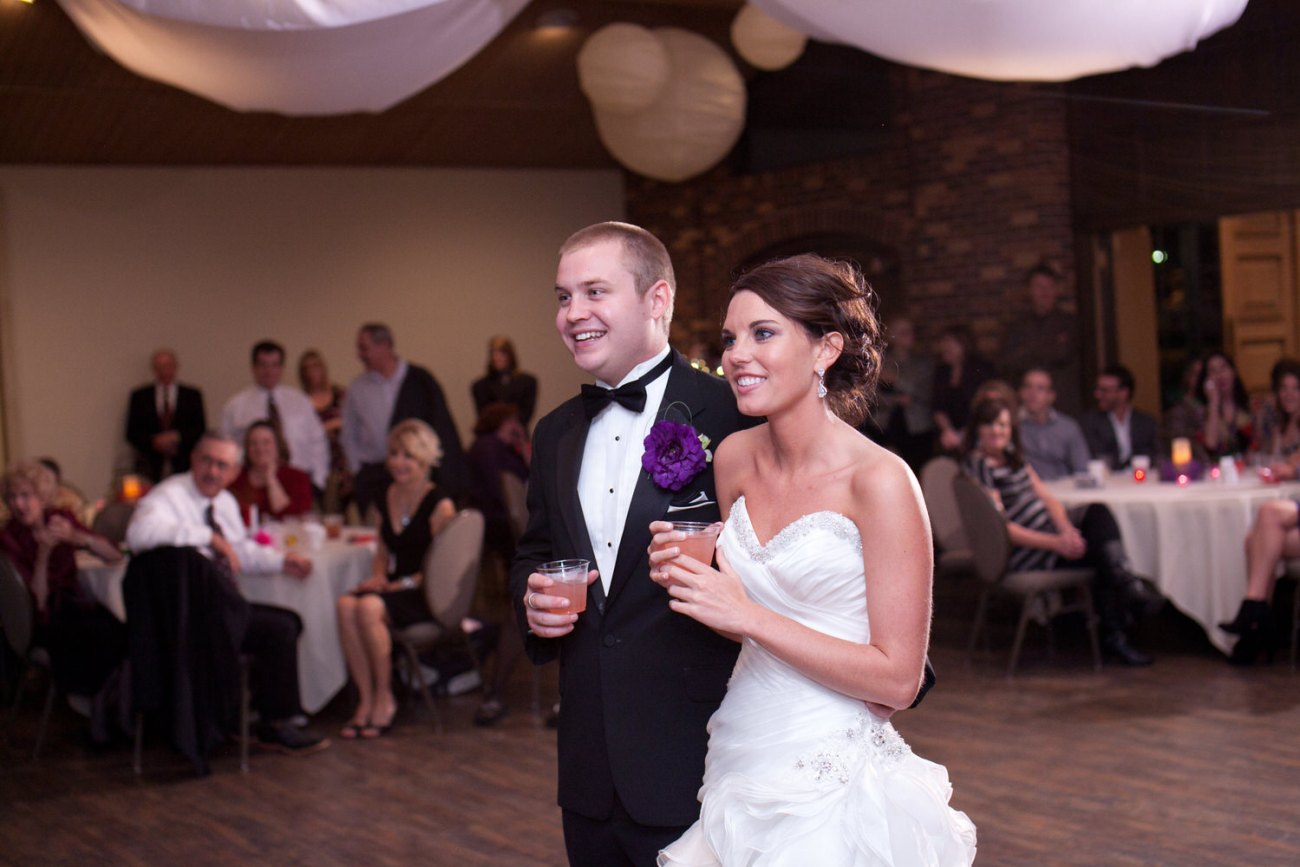 toasts to bride and groom