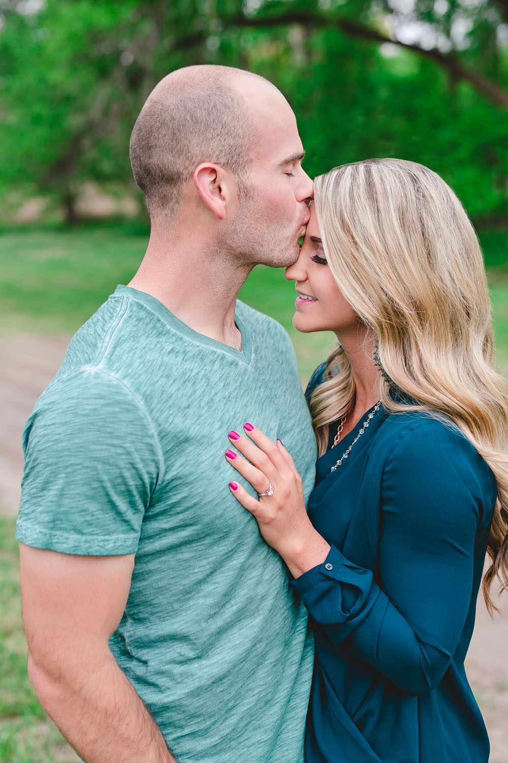 mckenzie park engagement photos