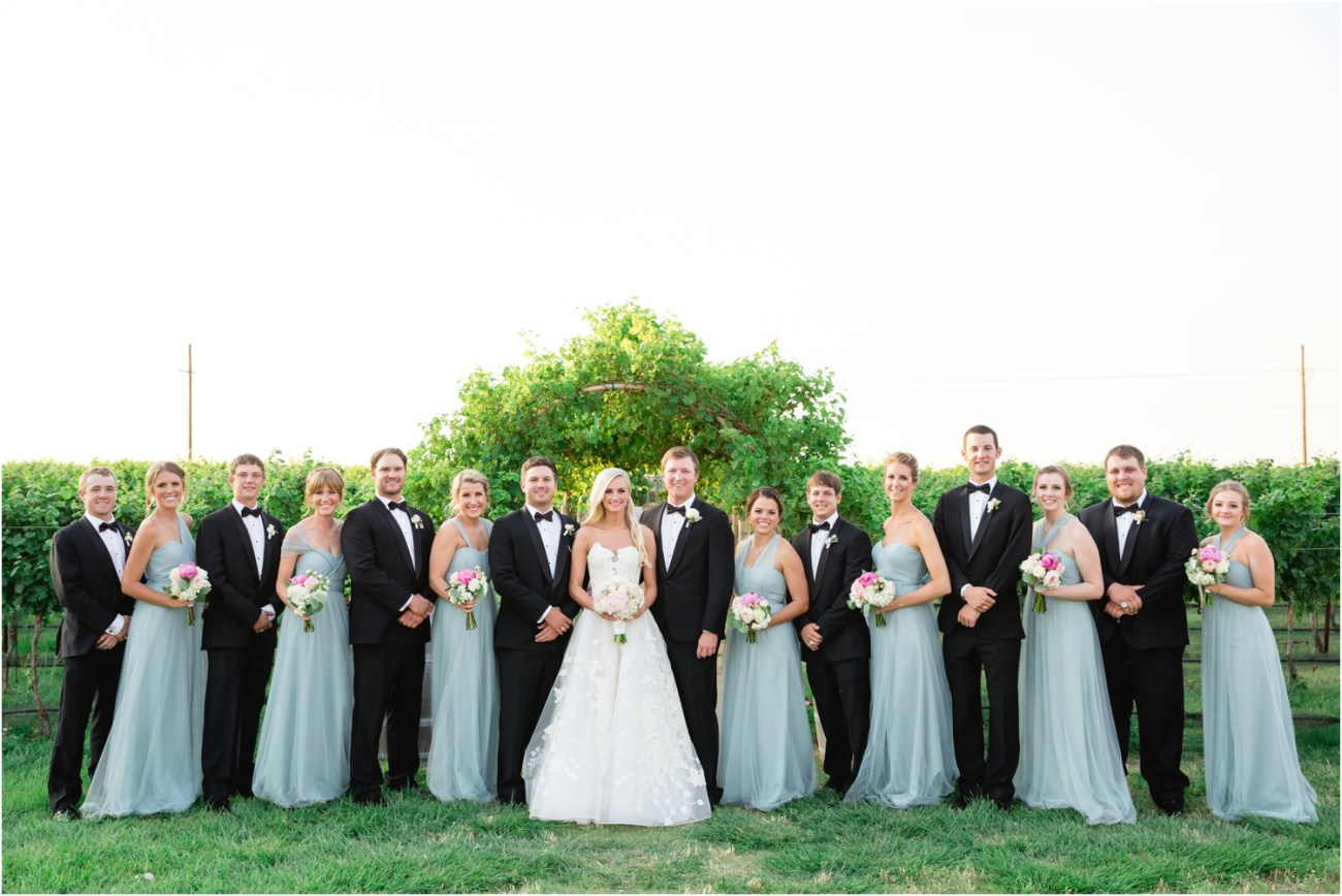 entire bridal party
