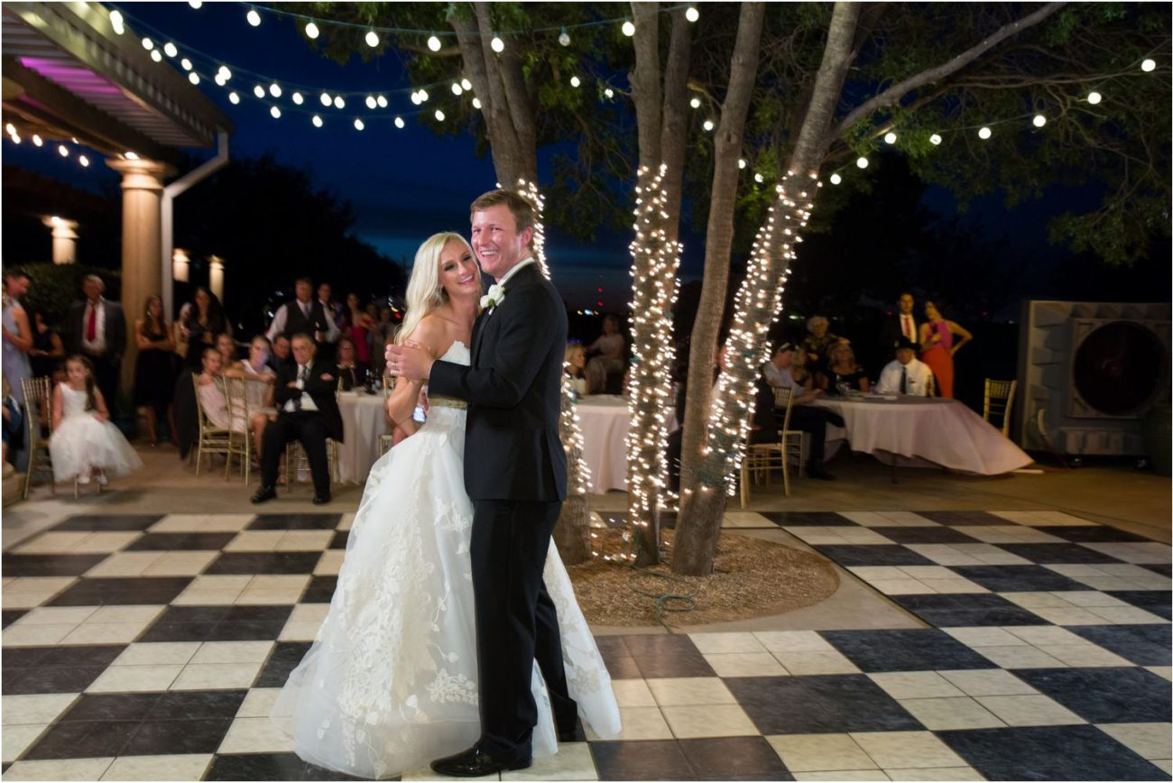 caprock wedding lubbock reception