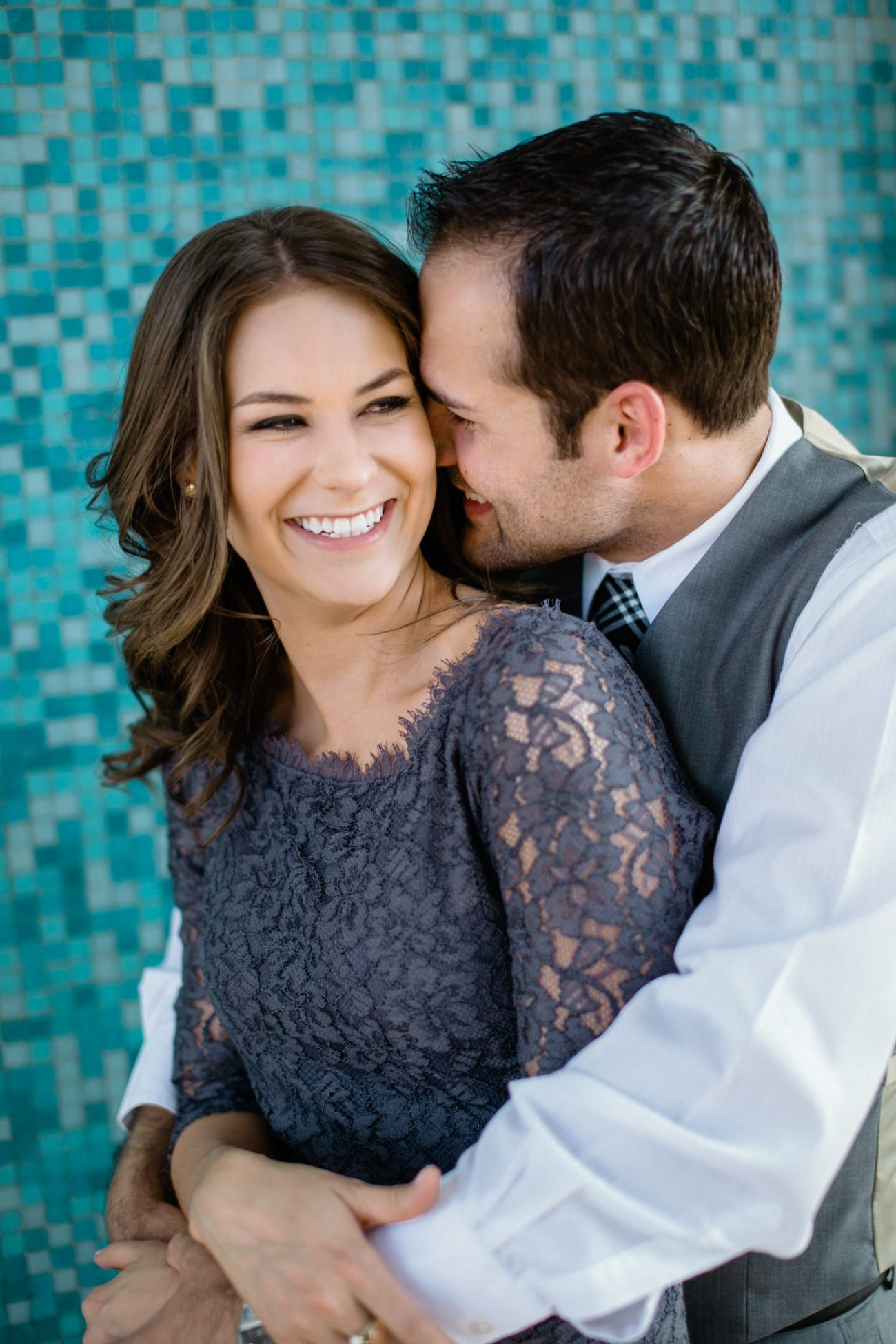 downtown lubbock engagement session