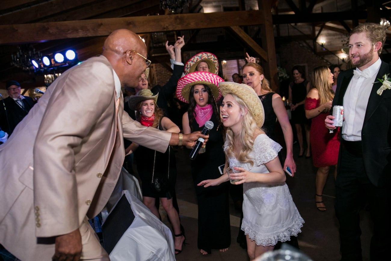 wedding reception fun at eberley brooks events