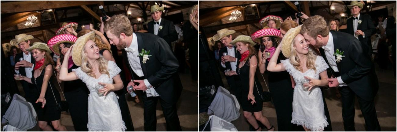 fun lubbock wedding reception