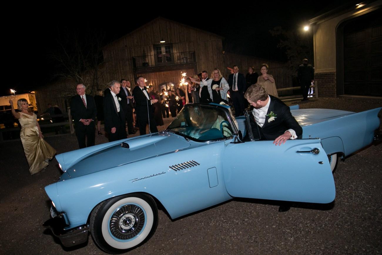 lubbock wedding car exit