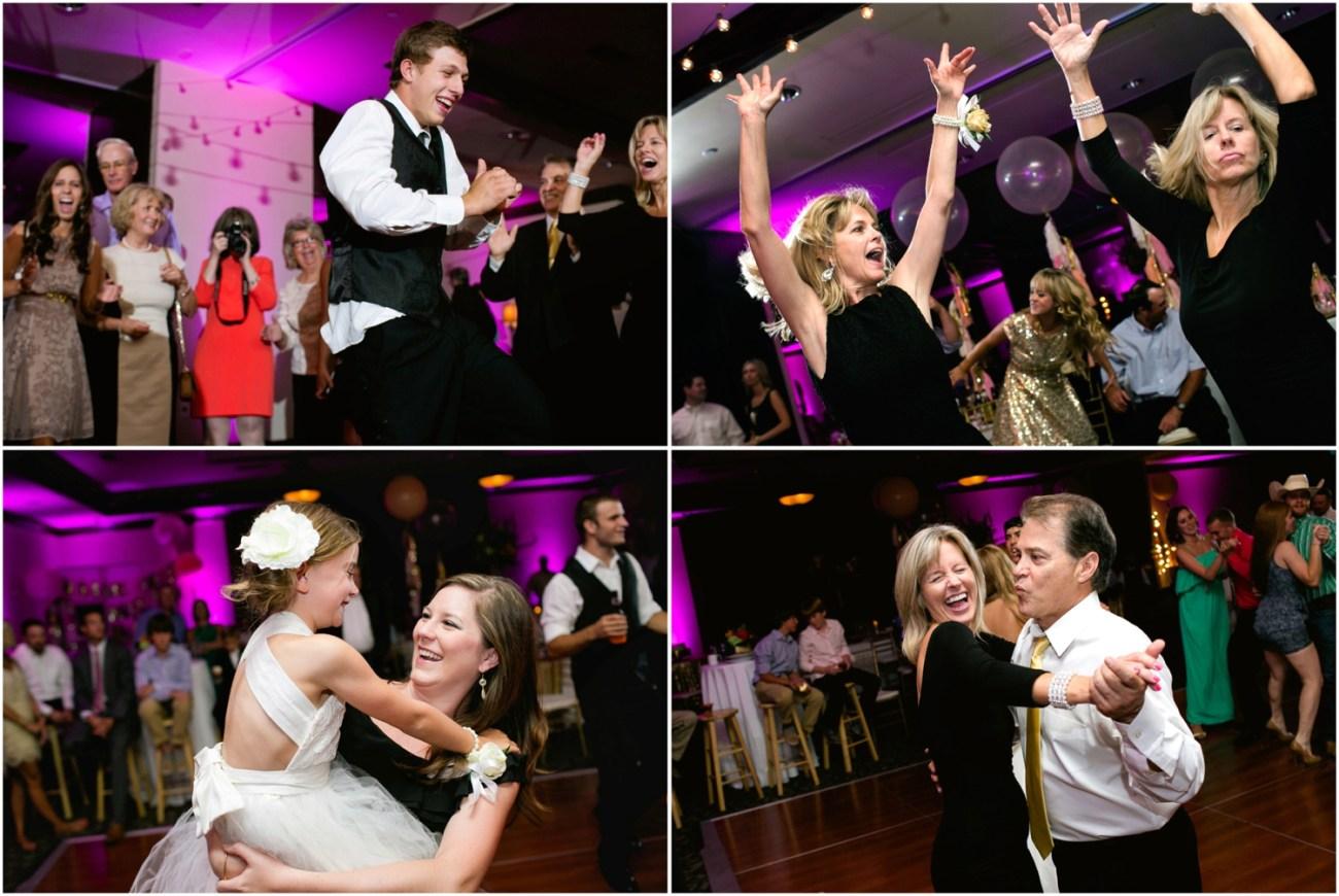 guests dancing fun
