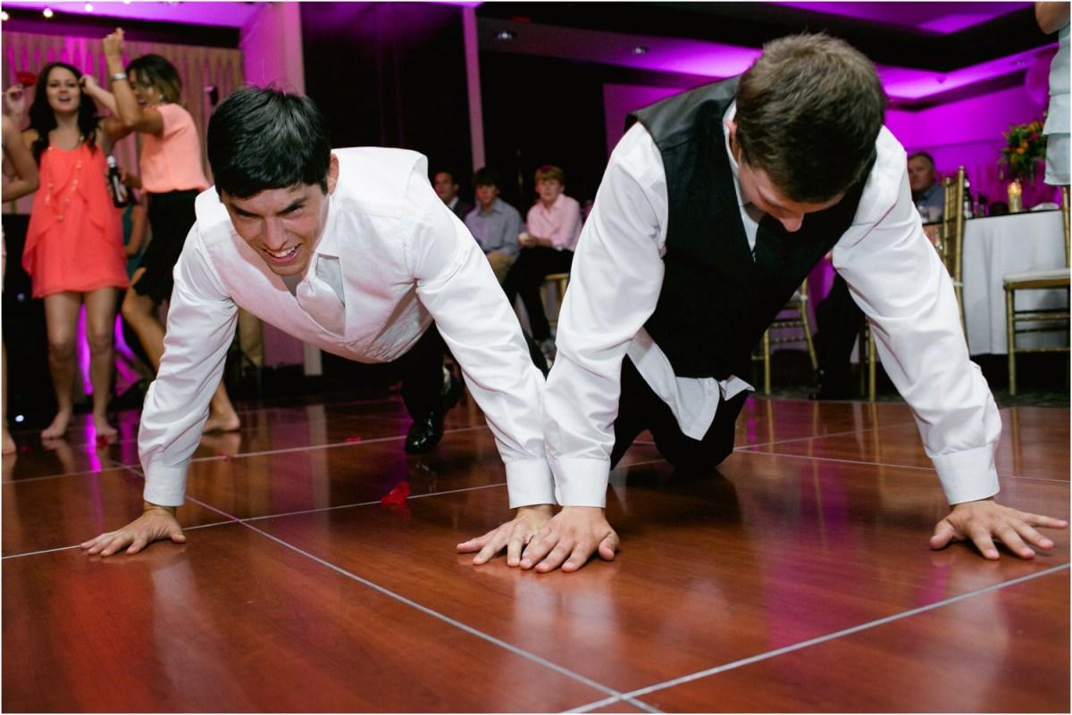 pushups dance
