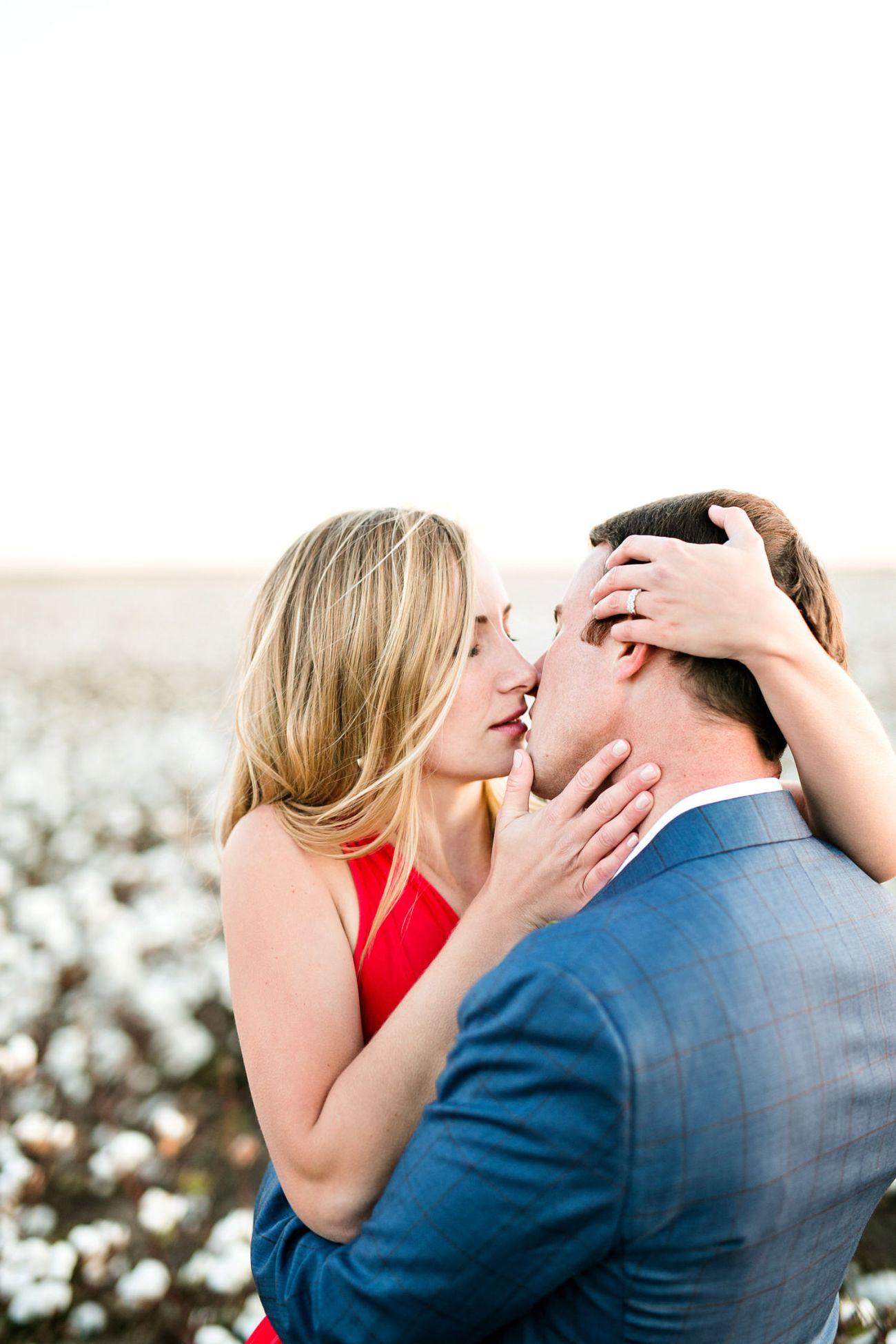 romantic lubbock engagement