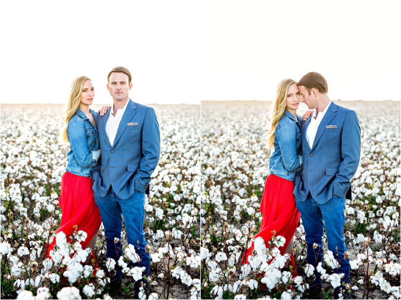 west texas cotton engagement