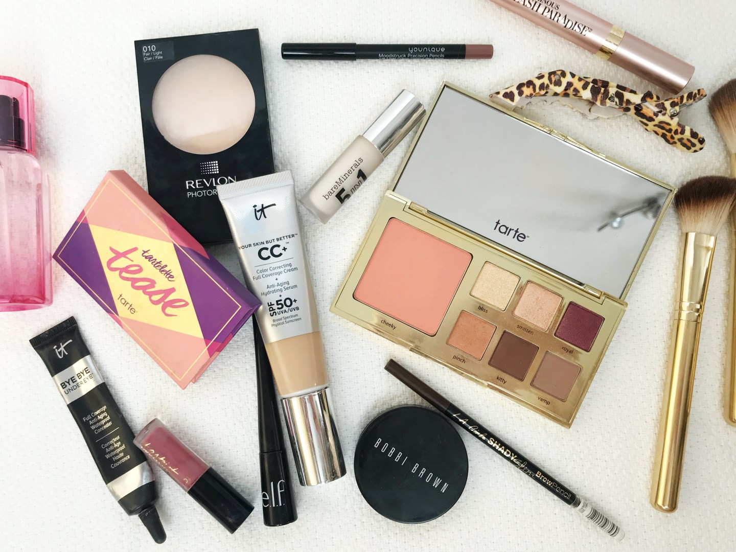 Flatlay Friday: My Daily Makeup