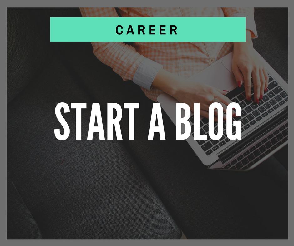 Product - Career - Start a Blog