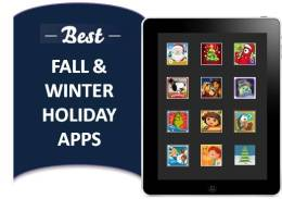BEST FALL WINTER HOLIDAY FESTIVE APPS FOR KIDS
