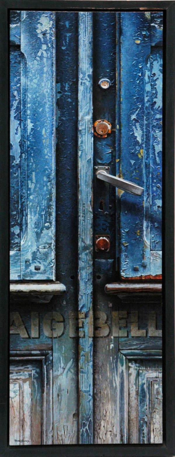 Peter_Evans_Painting_Blue_Door