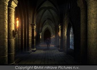 castle hallway haunted jasper johnny