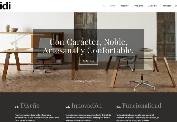 Una web singular para una empresa singular