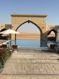 Our pool in Madinat Zayed
