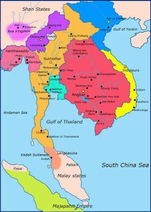 Peta Asia Tenggara : tenggara, Politik, Tenggara, Ke-15, ARIEF, ONLINE