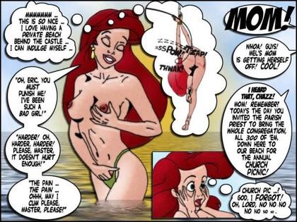 princess ariel naked