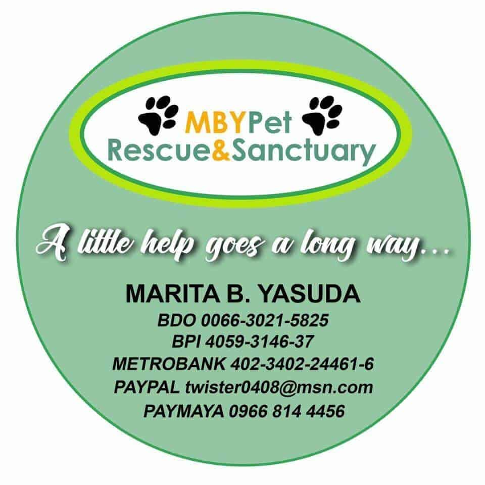 mby pet rescue and sanctuary donation information