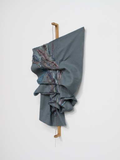 Mounted, wire blue gray 2014
