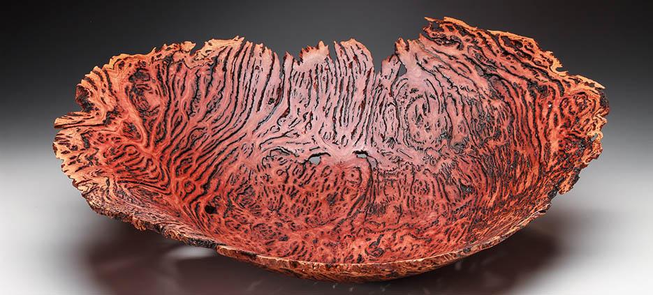 Lathe turned wood bowl by Steve Noggle