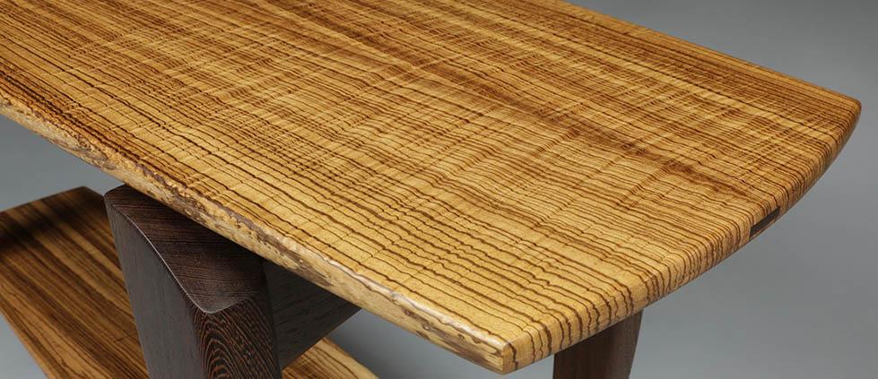 Handmade furniture, a table by David Scott