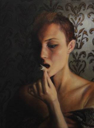 """""""Last Hope"""", Oil on canvas, 12""""x12"""""""