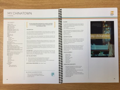 TIP Sheets: My Chinatown (Page 1)