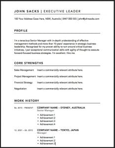 Don\'t Use A Downloaded Resume Template Until You Read This