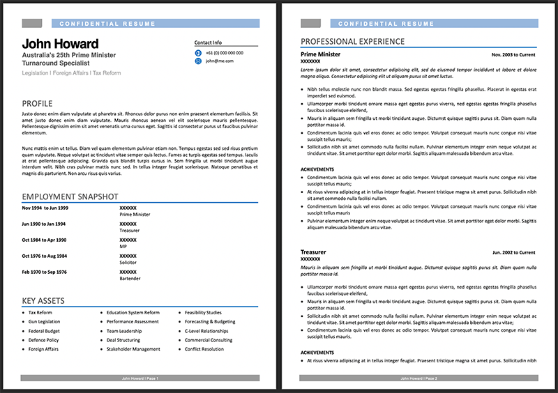 how to write a resume from scratch