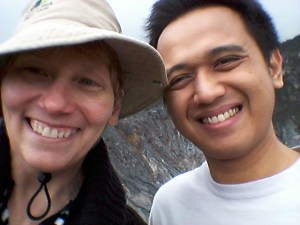 Arielle and Andika. And the volcano could blow at any millennia!