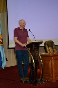 Minister Alexey Volin -- a great sense of humor