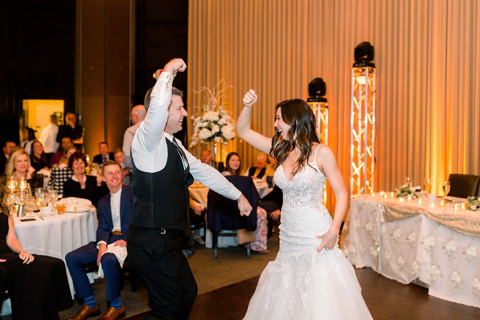 Arielle Peters Photography | Bride and father of the bride dancing at the wedding reception.