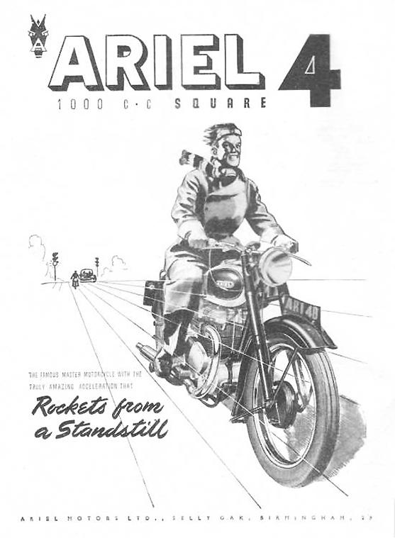 Ariel Motorcycles!