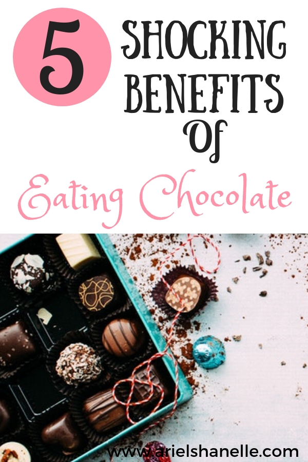 Dark chocolate is healthy and promotes many health benefits!